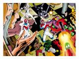 X-Men Archives No.5 Cover: Fury Kunstdrucke von Davis Alan