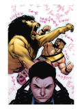 Incredible Hercules 137 Cover: Cho, Amadeus and Hercules Art par Rafael Albuquerque