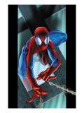 Ultimate Spider-Man 53 Cover: Spider-Man Print by Mark Bagley