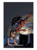 Friendly Neighborhood Spider-Man No.5 Cover: Spider-Man Prints by Mike Wieringo