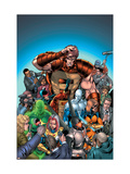 New Thunderbolts No.7 Cover: MACH-IV Poster by Tom Grummett