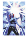 Mystique 15 Cover: Mystique and Professor X Posters