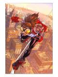 Arana: Heart Of The Spider No.1 Cover: Arana Print by Mark Brooks
