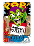 The Spectacular Spider-Man 189 Headshot: Green Goblin Prints by Buscema Sal