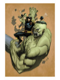 Ultimate Wolverine Vs. Hulk No.2 Cover: Wolverine and Hulk Affischer av Yu Leinil Francis
