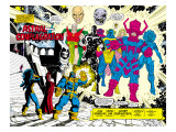 Infinity Gauntlet 5 Group: Thanos Art by George Perez