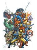 Marvel Team Up No.1 Cover: Wolverine Kunstdrucke von Kolins Scott