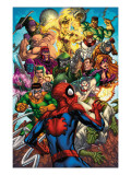 Spider-Man & The Secret Wars No.2 Cover: Spider-Man Posters by Patrick Scherberger
