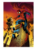 Ultimate Spider-Man Annual 1 Cover: Spider-Man and Shadowcat Prints by Mark Brooks
