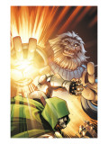 Doctor Doom and The Masters of Evil No.3 Cover: Blastaar Poster by Karl Kerschl