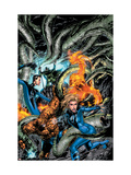 Marvel Adventures Fantastic Four 6 Cover: Mr. Fantastic Print by Carlo Pagulayan