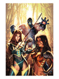 New Exiles No.14 Cover: Marvel Universe Posters by Alex Garner
