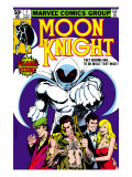 Moon Knight No.1 Cover: Moon Knight Poster by Bill Sienkiewicz