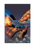 Fantastic Four 524 Cover: Mr. Fantastic, Invisible Woman, Thing, Human Torch and Fantastic Four Prints by Mike Wieringo