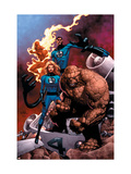 Fantastic Four Special No.1 Cover: Mr. Fantastic Láminas por Casey Jones