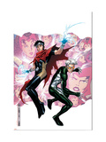 Young Avengers Presents 3 Cover: Wiccan and Speed Poster by Jim Cheung