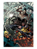 Wolverine: Origins 32 Cover: Wolverine, Cyber and Daken Art by Paquette Yanick