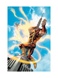 New Thunderbolts No.12 Cover: Atlas, Songbird and Photon Prints by Tom Grummett