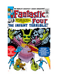 The Fantastic Four No.24 Cover: Mr. Fantastic Posters by Jack Kirby