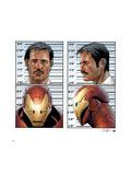 Invincible Iron Man No.9 Cover: Iron Man, Stark and Tony Planscher av Salvador Larroca