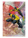X-Men: First Class Finals 1 Cover: Beast and Angel Prints by Roger Cruz