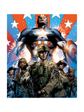 Captain America Theater of War: Ghosts of My Country No.1 Cover: Captain America Posters by Butch Guice