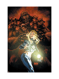 Ultimate Fantastic Four No.49 Cover: Invisible Woman Arte por Mark Brooks