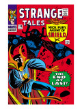 Strange Tales No.146 Cover: Dr. Strange and Eternity Posters by Ditko Steve