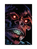 Captain America Reborn 3 Headshot: Red Skull Prints by Rian Hughes