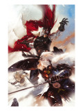 Thor: Man Of War 1 Cover: Thor and Odin Affiches