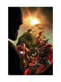 New Avengers No.40 Cover: Hulk, Thor, Iron Man and Ant-Man Prints