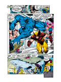 X-Men 1 Group: Beast, Wolverine and Psylocke Prints by Lee Jim