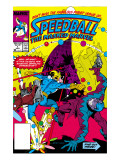Speedball 1 Cover: Speedball Fighting Art by Ditko Steve