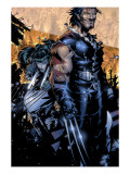 X-Men: Age of Apocalypse 1 Cover: Wolverine and Kirika Posters by Bachalo Chris
