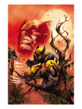 Wolverine: Killing Made Simple 1 Cover: Wolverine Print by Segovia Stephen