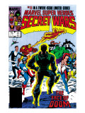 Secret Wars 11 Cover: Dr. Doom Posters par Mike Zeck