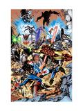 Avengers No.99 Annual Cover: Captain America, Thor, Iron Man, Wonder Man and Avengers Posters by Leonardo Manco