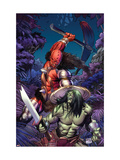 Skaar: Son Of Hulk 6 Cover: Skaar Affiches par Ron Garney