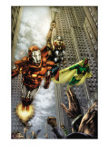Marvels: Eye Of The Camera No.4 Cover: Iron Man, Thor and Vision Prints by Jay Anacleto
