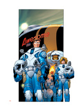 Ultimate Fantastic Four 15 Cover: Mr. Fantastic Affiches par Adam Kubert