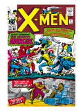 X-Men 9 Cover: Lucifer Prints by Jack Kirby
