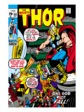 Thor No.181 Cover: Thor and Balder Print by Neal Adams