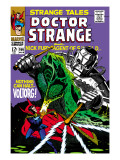 Strange Tales 166 Cover: Dr. Strange and Voltorg Prints by George Tuska