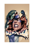 She-Hulk 10 Cover: She-Hulk and Titania Posters par Mike Mayhew