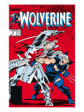 Wolverine 2 Cover: Wolverine and Silver Samurai Posters par John Buscema