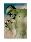 Hulk &amp; Thing: Hard Knocks 1 Headshot: Hulk Charging Posters by Jae Lee