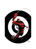 Dark Reign: The List - Daredevil No.1 Cover: Daredevil Prints by Billy Tan