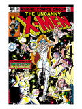 Uncanny X-Men 130 Cover: Dazzler, Cyclops, Grey and Jean Poster von Romita Jr. John