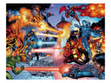 X-Men: The End No.3 Group: Iceman and Cyclops Prints by Sean Chen