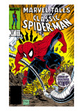 Marvel Tales: Spider-Man 223 Cover: Spider-Man and Doctor Octopus Fighting Poster by Todd McFarlane